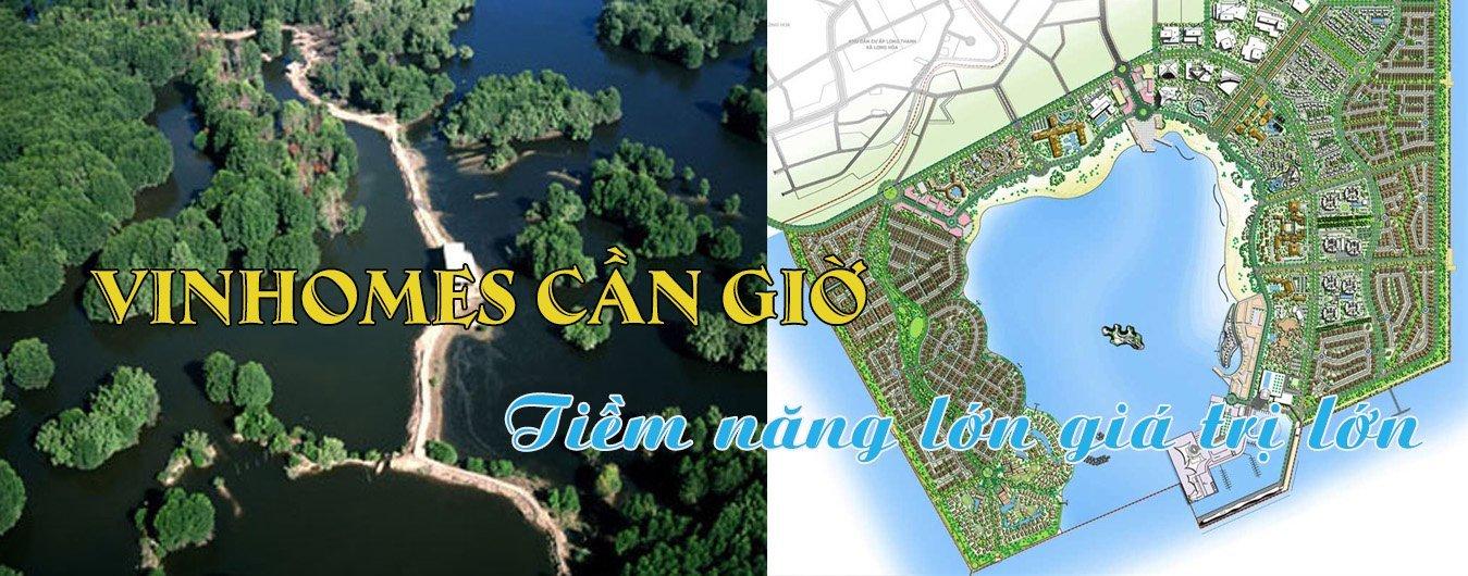 Vinhomes Cần Giờ – Khu đô thị 3000 ha của Vingroup tại Hồ Chí Minh